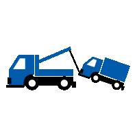 トラック専門24時間レッカー作業